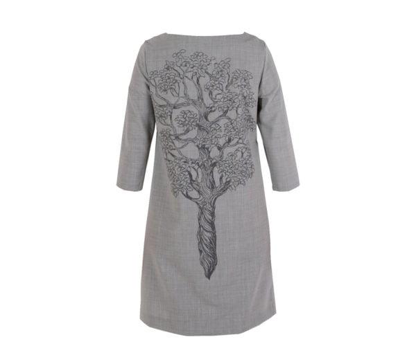 Dalykiško stiliaus suknelė Medis