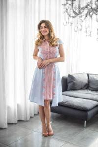 """Medvilninė suknelė """"My own dress 16"""" - medvilninė suknelė vasarai"""