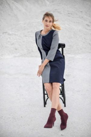"""Klasikinė suknelė rudeniui """"My own dress 18"""" - įsigyk internetu"""