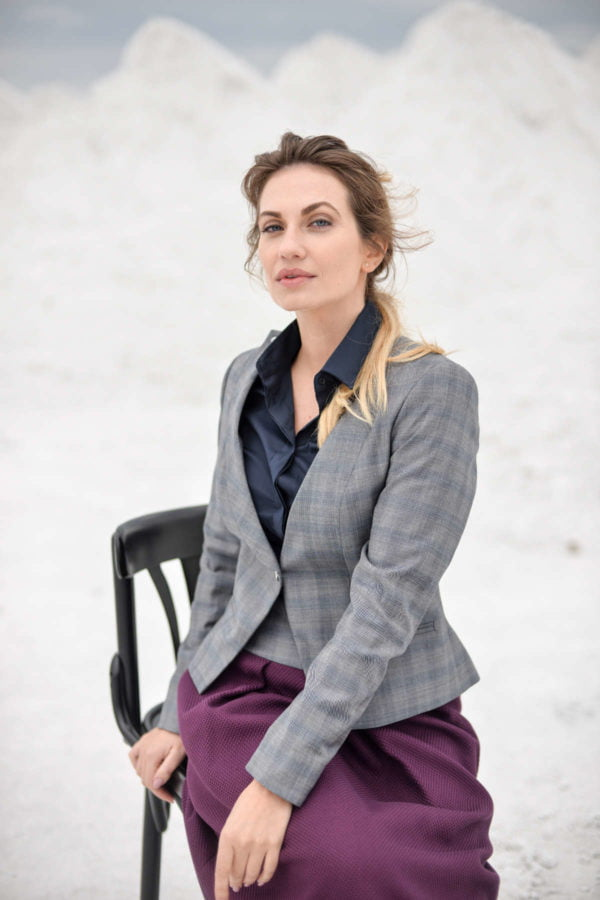"""Moteriškas kostiumėlis su sijonu """"My own suit 3"""""""