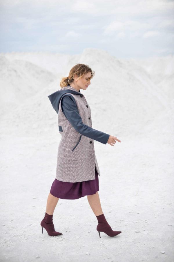 "Moteriškas paltas rudeniui ""My own coat 3"""