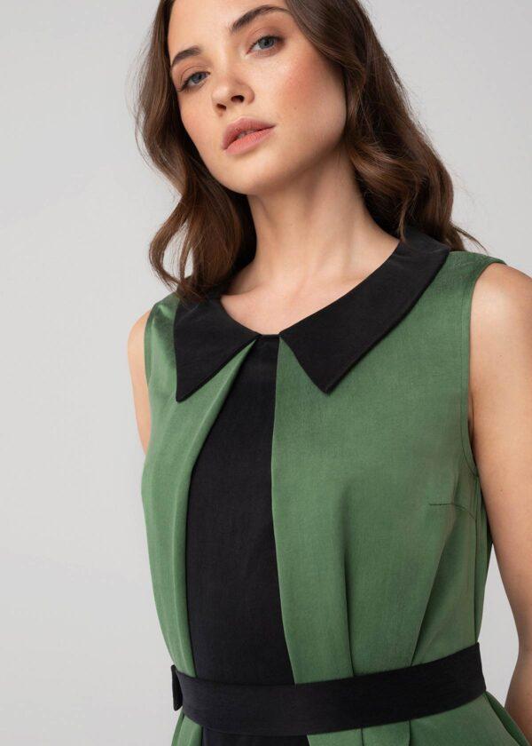 Stilinga suknelė be rankovių - Tauri Look