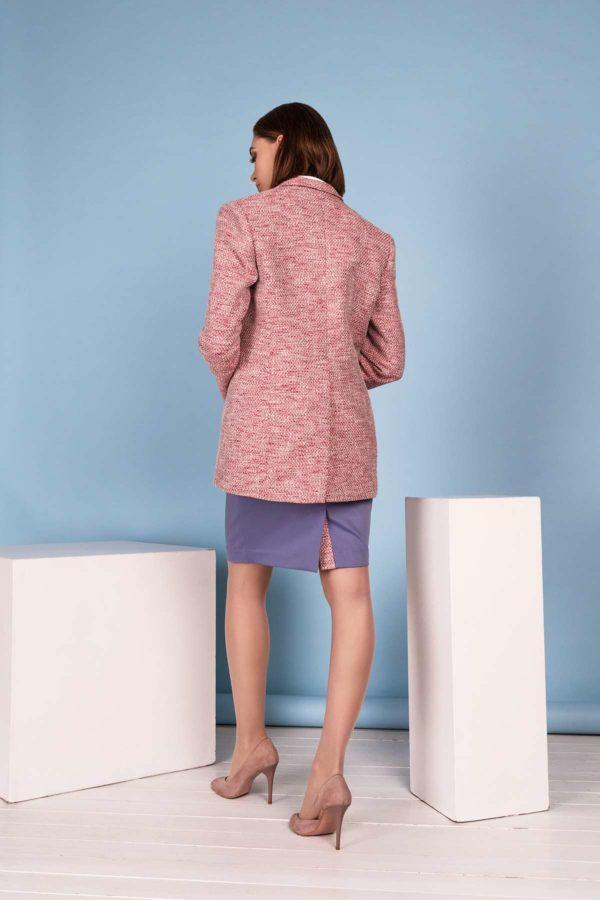 Tiesus sijonas pavasariui vasarai su švarku