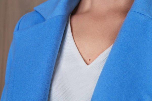 Šviesiai mėlynas švarkas - Tauri Look