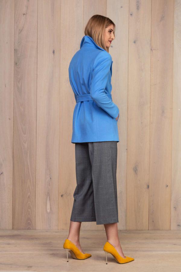 Šviesiai mėlynas švarkas klasikinio kirpimo - My own jacket 9
