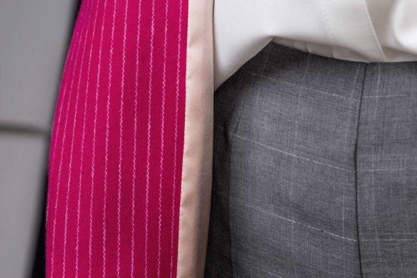 Ryškiai rožinis švarkas - My own jacket 9 - klasikinio kirpimo