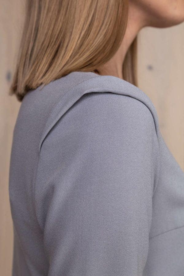 Stilinga melsva palaidinė - Tauri Look kolekcija