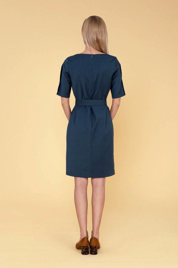 """Žalia Dalykinė suknelė vasarai """"My own dress 32"""""""