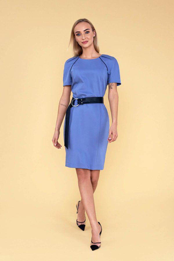 """Lengva vasarinė suknelė """"My own dress 30"""" melsva suknelė"""