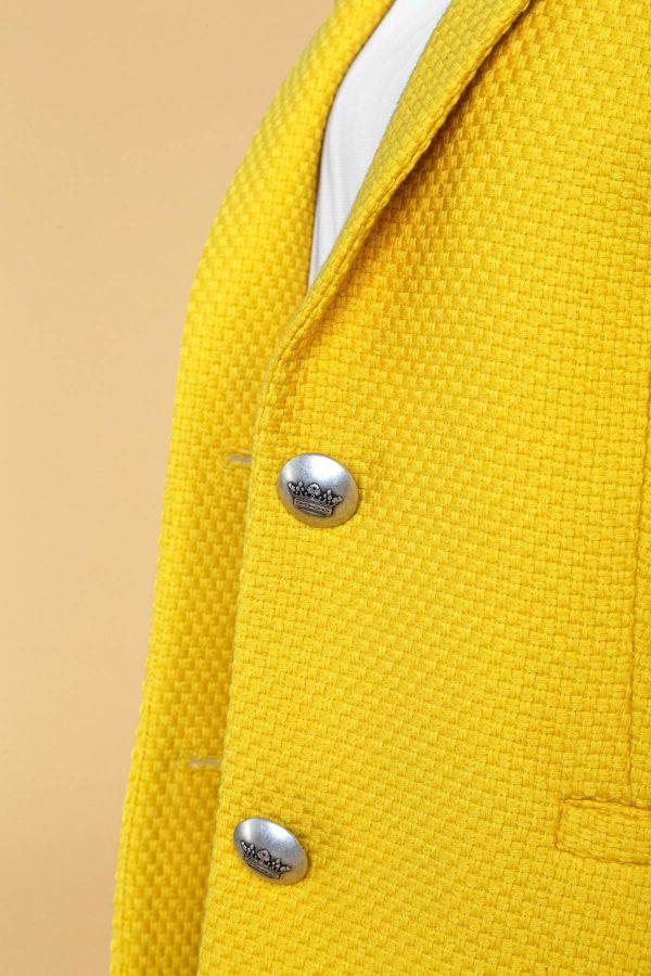 """Ryškiai geltonas švarkas """"My own jacket 11"""""""