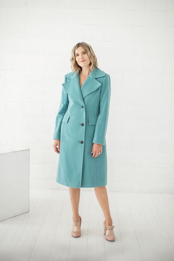 Klasikiniai stilingi paltai iš vilnos internetu Tauri Look