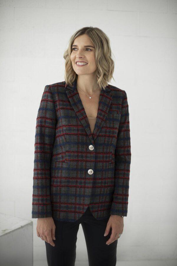 Languotas moteriškas švarkas - My own jacket 12 - Tauri look