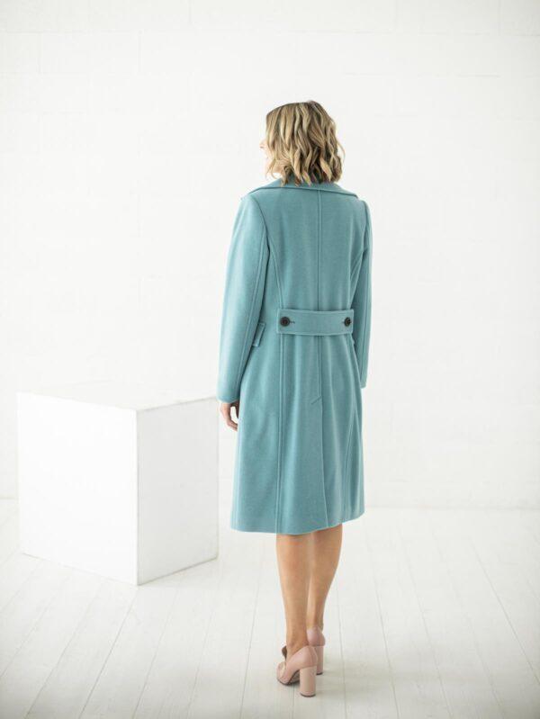 Stilingas paltas su vilna internetu - Tauri Look
