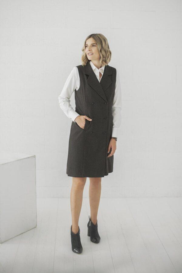 Vilnos suknelė liemenė - My own dress 26 - Tauri look