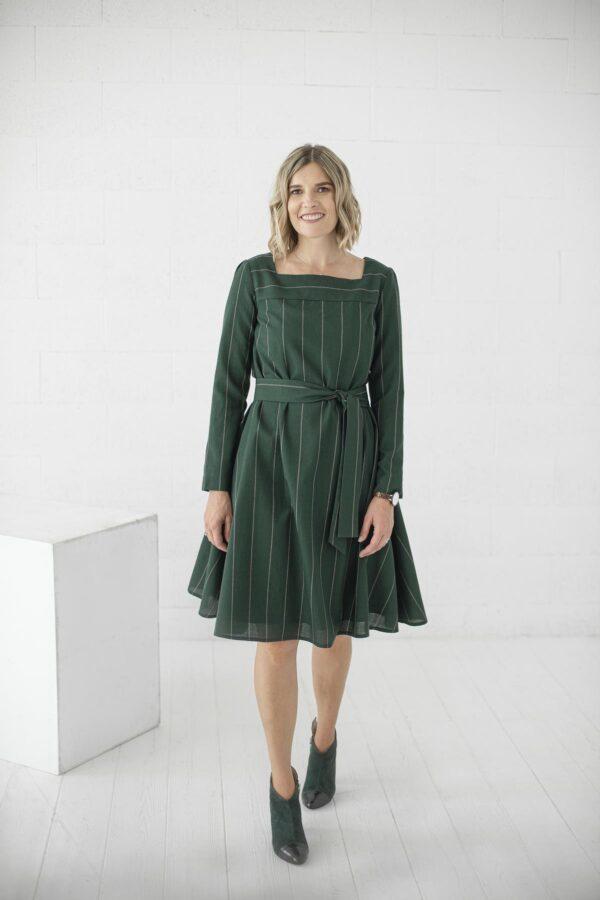 Žalia suknelė mėgstančioms išskirtinį stilių - Tauri Look