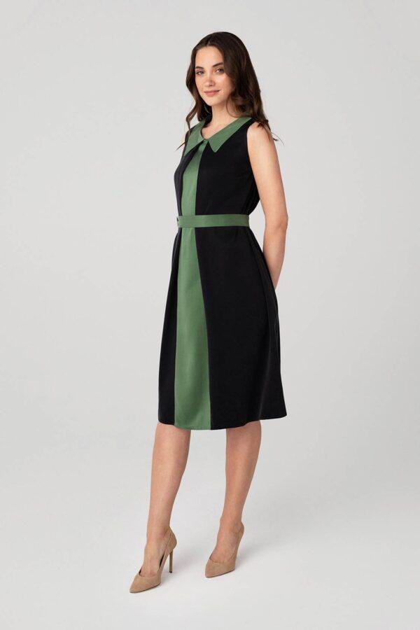 Stilinga suknelė internetu be rankovių - Tauri Look