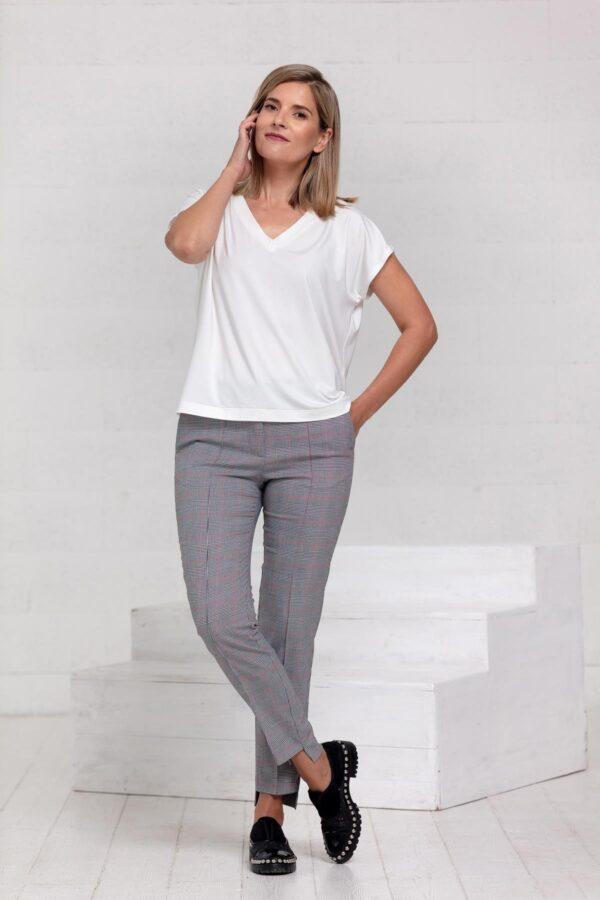 Balti marškinėliai - Tauri Look