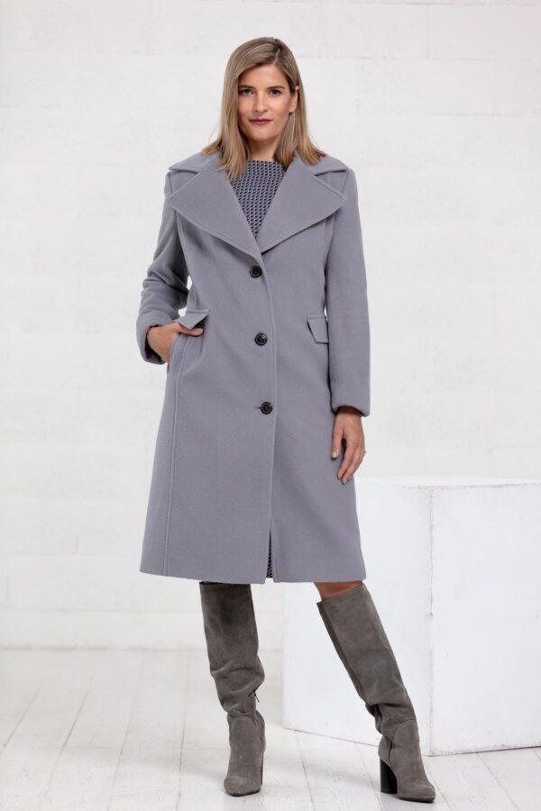 Itališkos vilnos paltas My own coat 5 - Tauri Look