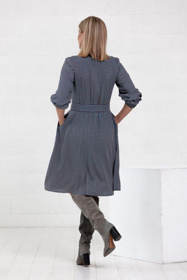 Marga suknelė ilgomis rankovėmis - Tauri Look